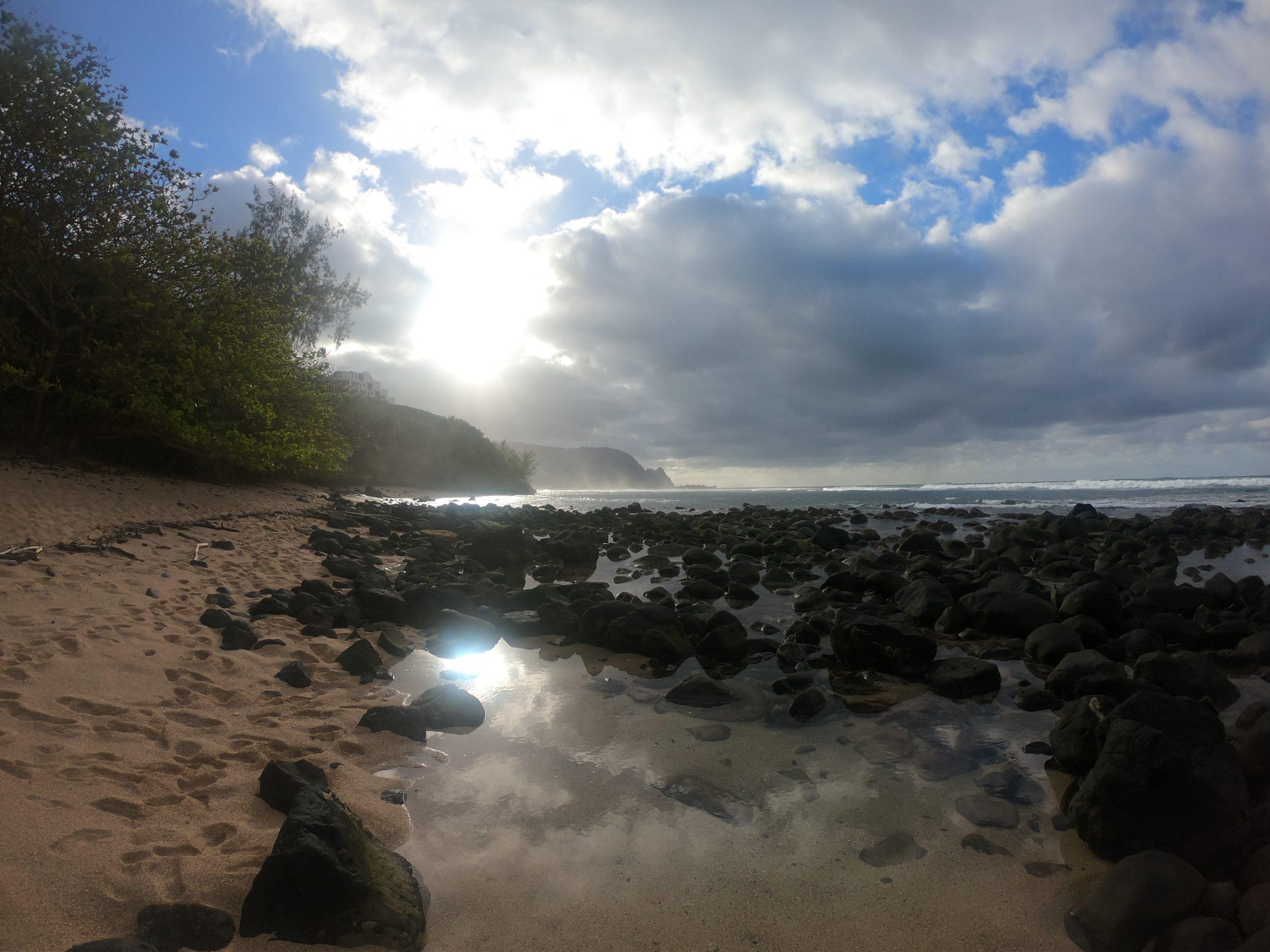 Divine Light on Kauai - Feb. 2018 Copyright Steve J Davis