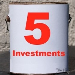 Paint Can, (c) Photo by Steve Kaye, in 5 Investments in Happiness