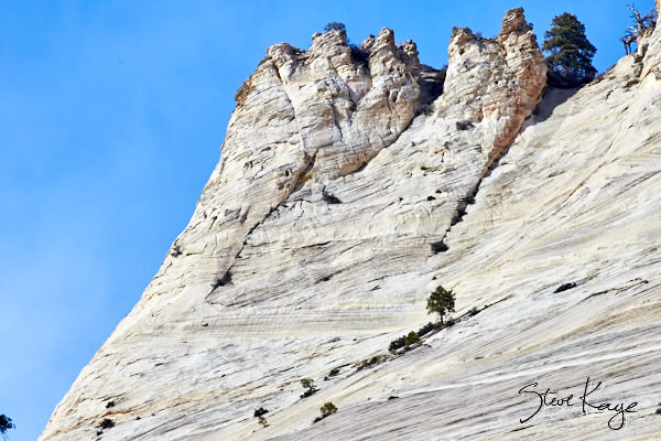 Cathedral Mountain, Zion National Park, (c) Photo by Steve Kaye