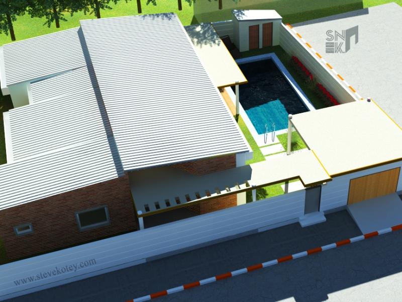 Extension d_une maison à Hêvié-1