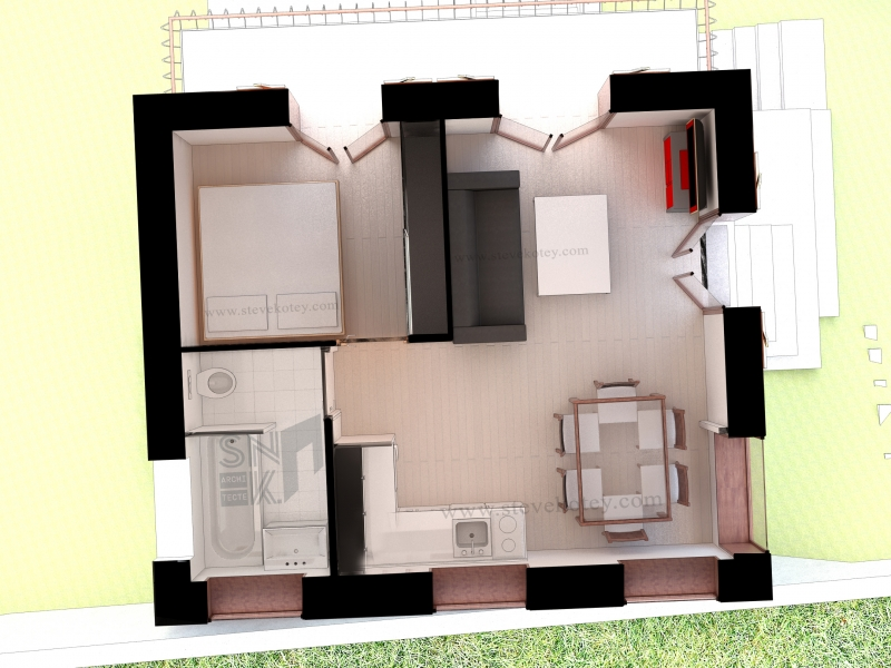 Plan proposition Etage