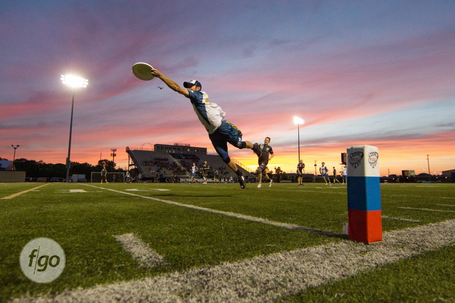 """Sunset Stretch"" my favorite pro ultimate shot of 2015"
