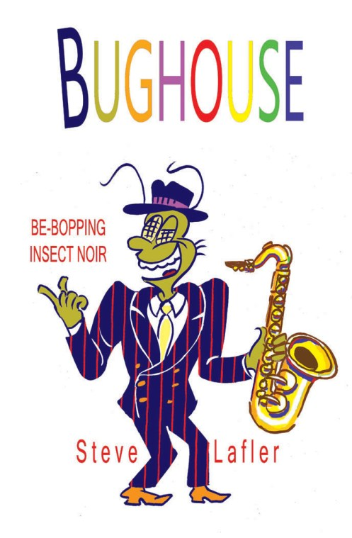 Promotional image for Summer 2012 Bughouse Book tour.