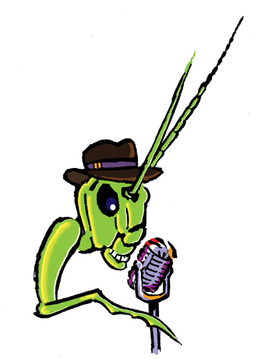 Radio Insecto, band marketing icon.
