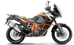 KTM 1290 motorcycle