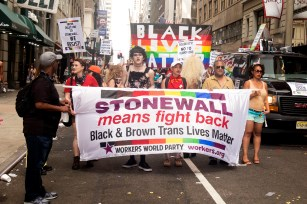 Stonewall means fight back