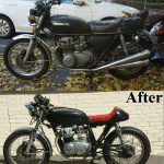 My Oid Motorcycle Is Re Born