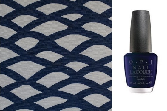 sm's Indigo and Opi's Yoga ta get this blue