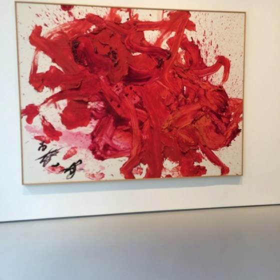 Kazou Shiraga monumental paintings
