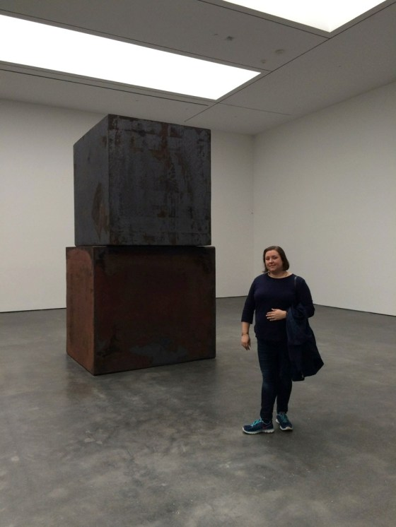 "Richard Serra ""Equal"" at the David Zwirner gallery 2"