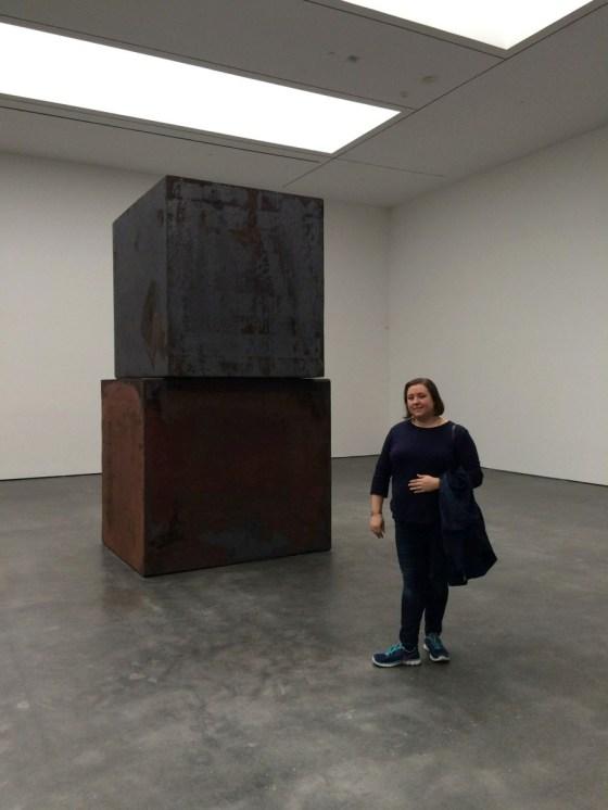 "Richard Serra ""Equal"" at the David Zwirner gallery 2"