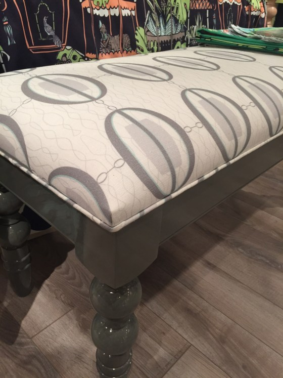 Cotton + quill on a Chappy Bench from Dunes and Duchess