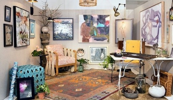 Space by Tami Ramsay and Krista Nye Schwartz of Cloth & Kind - photo by Rue magazine