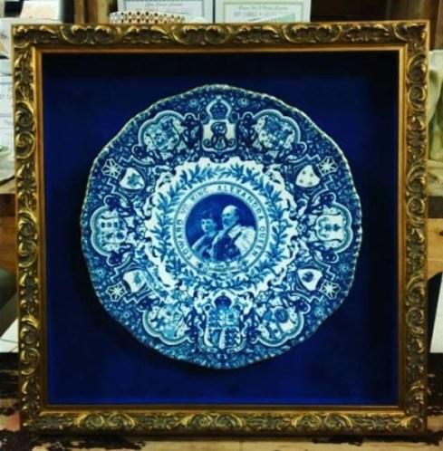 custom framed china