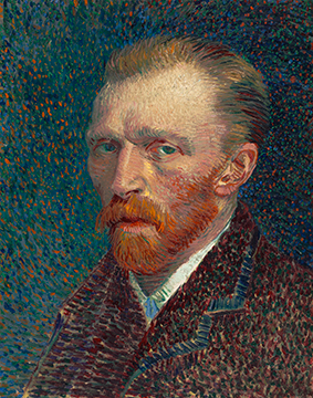 Vincent van Gogh. Self-Portrait, 1887. Joseph Winterbotham Collection.