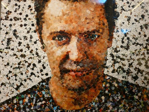 Vik Muniz, self portrait