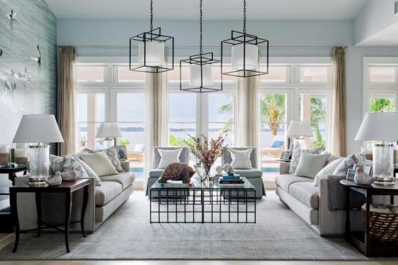Brian's living room in HGTV's Dream Home 2016