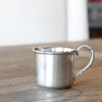 "Pewter ""Easton"" Baby Cup"