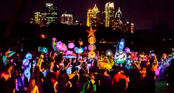 Atlanta BeltLine Lantern Parade September 12, 2015 photos by Christopher T Martin