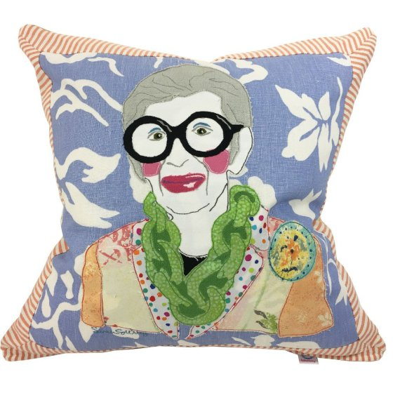 pillow, Iris, fashion