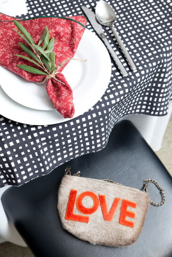napkin, purse, love, burgundy