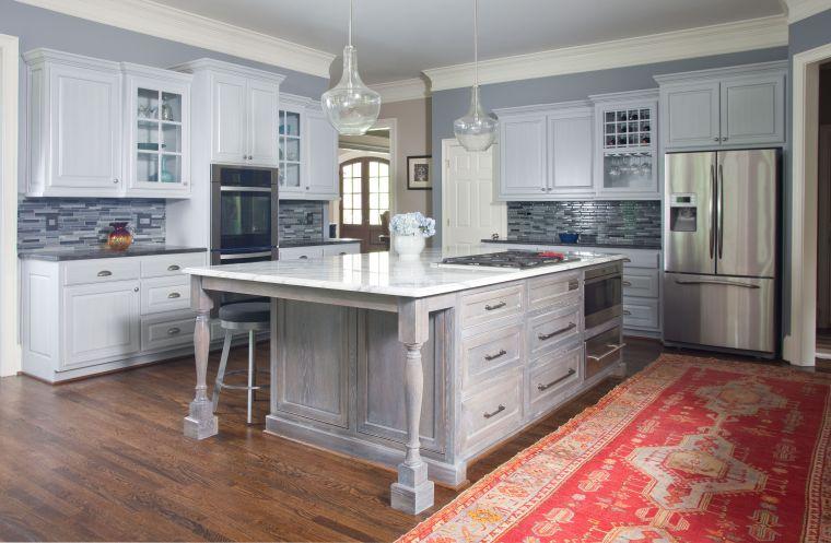 Fraser After, atlanta kitchen, large kitchen remodel