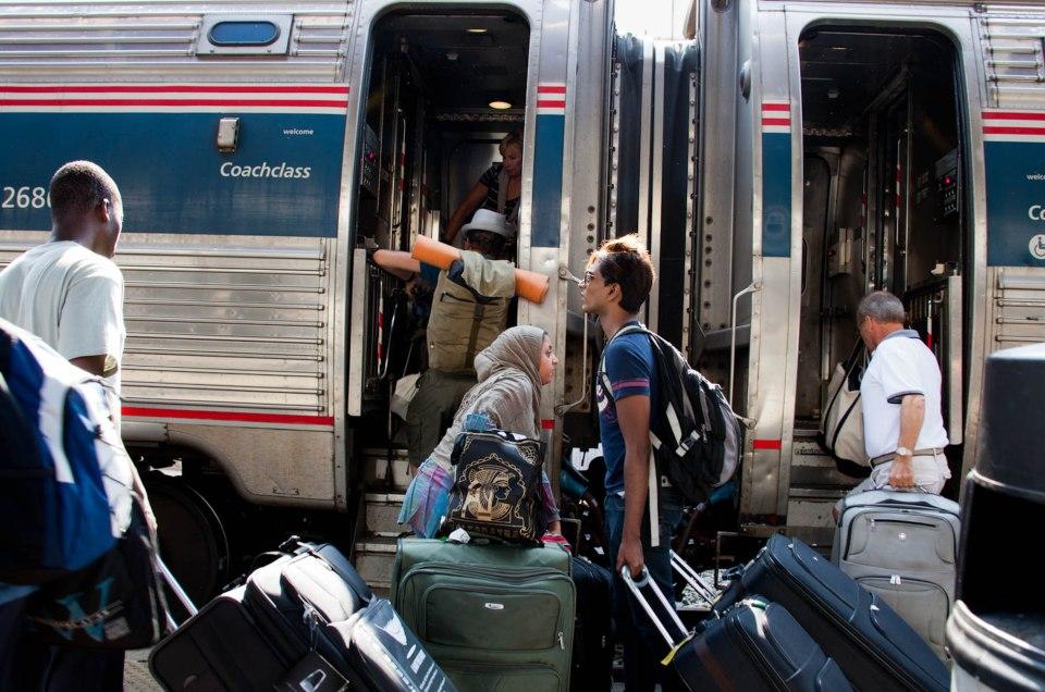 A SUMMER ON THE RAILS - AMTRAK ACROSS THE USA