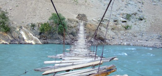 rope bridge