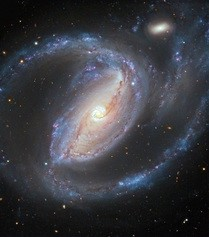 NGC 1097 observed in optical  light (ESO/R. Gendler)