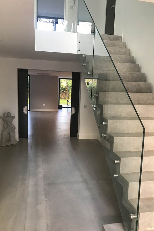 Glass Balustrades Glass Banisters Stairs Stevenage Glass   Glass Balustrade Stairs Near Me   Railing Systems   Frameless Glass   Deck Railing   Handrails   Metal