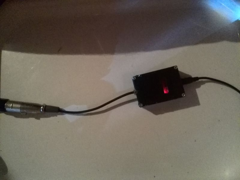 Custom DIY DMX Adapter