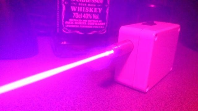 Violet/Blue DIY Laser