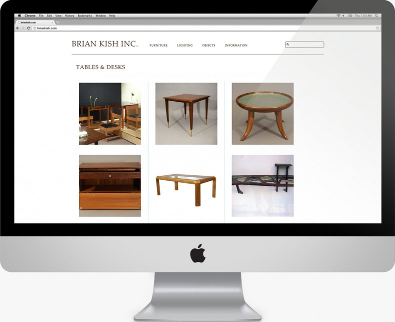 Brian Kish - Italian Design Dealer Website: Category
