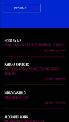 nirco-castillo-fashion-designer-resume-website-concept-steven-chu-mobile-2