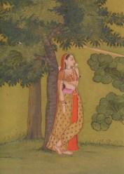 Radha pining for Krishna