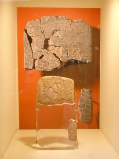 The Kadesh peace agreement—on display at the Istanbul Archaeology Museum—is believed to be the earliest example of any written international agreement of any kind.[3]