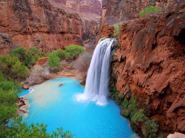 Grand Canyon Waterfall