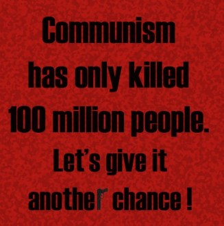It's The Communism, Stupid