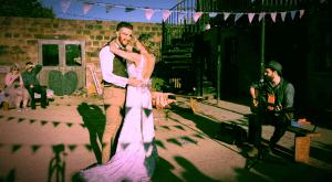 Steven Heath wedding singer yorkshire, Lineham Farm Leeds