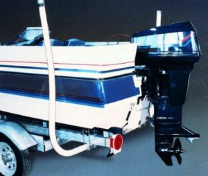 back up trailer poles guides