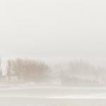Red Barn in Winter Fog - Steven Kennard 2013