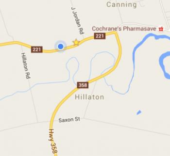 Google map to Steven Kennard address