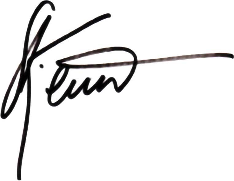 Steven Kent Mirassou Signature