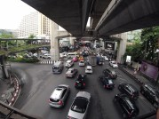 One of the first and most frequent things you'll see in Thailand: traffic!...