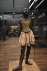 Another Degas ballet series. Note: the hair ribbon (unseen in this photo) and tutu is made with real fabric.