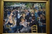 One of Renior's most famous painting: Dance at Le Moulin de la Galette