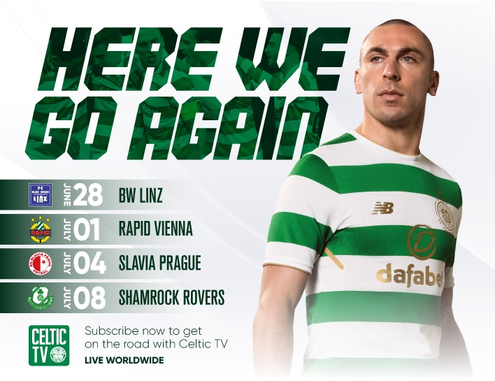 39 Days Till Celtic Begin The Defence Of The Title And Go For 7 In A Row!!
