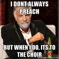 preaching to your own business choir steven monahan