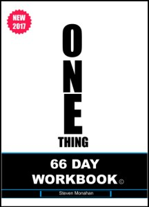 the one thing 66 day workbook