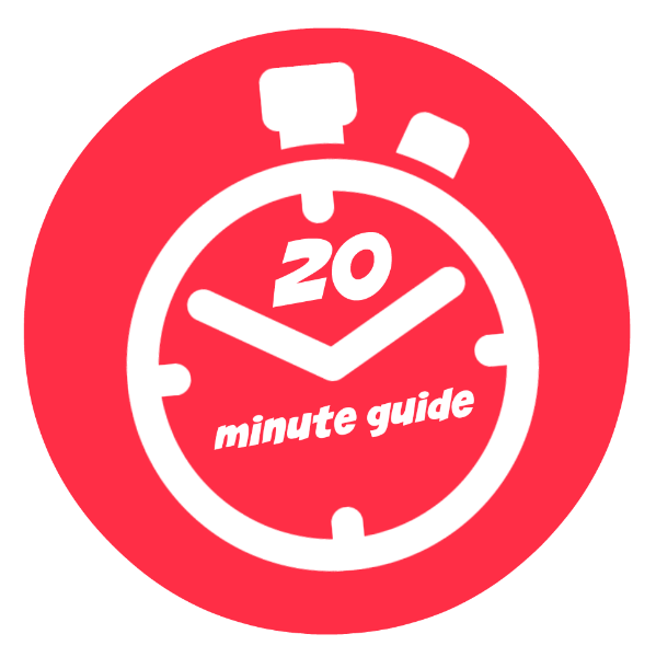 20 Minute guide series, about us.